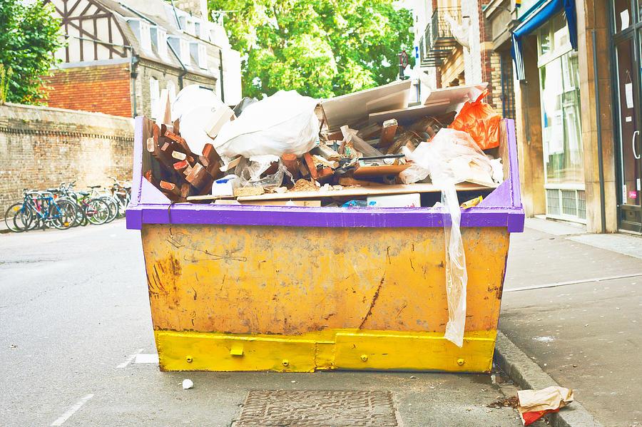 Waste Skip Photograph