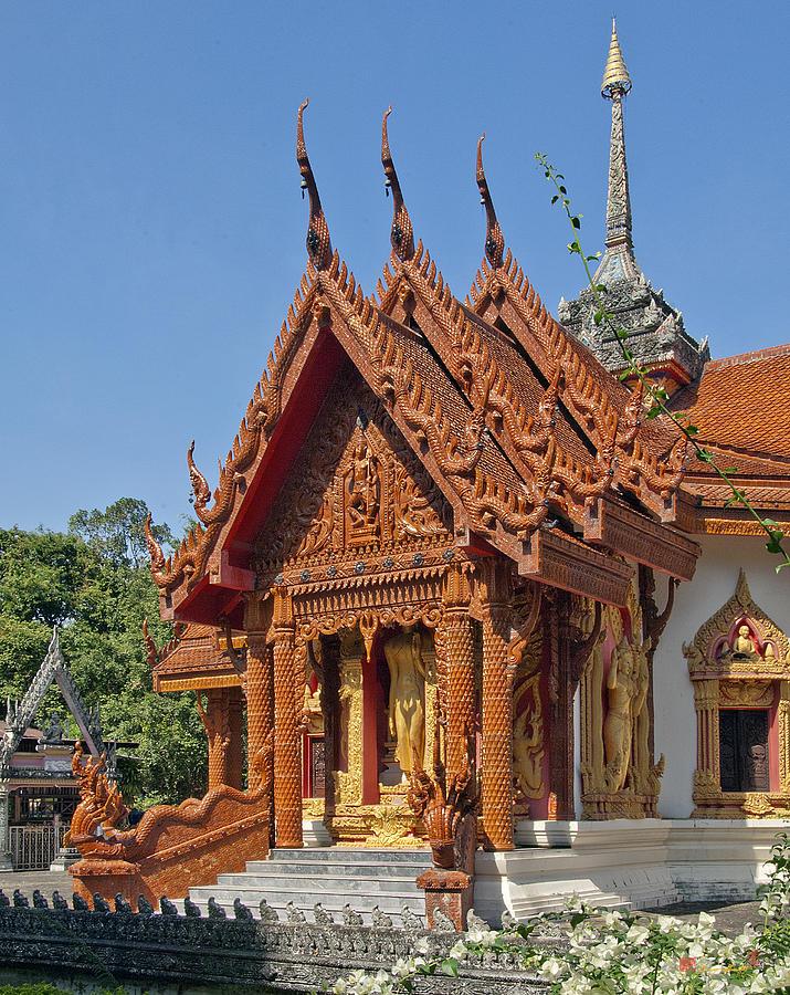 Scenic Photograph - Wat Ban Tha Bo Ubosot Dthu200 by Gerry Gantt