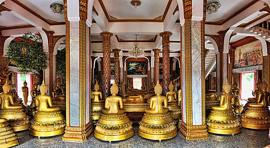 Wat Chalong Photograph  - Wat Chalong Fine Art Print