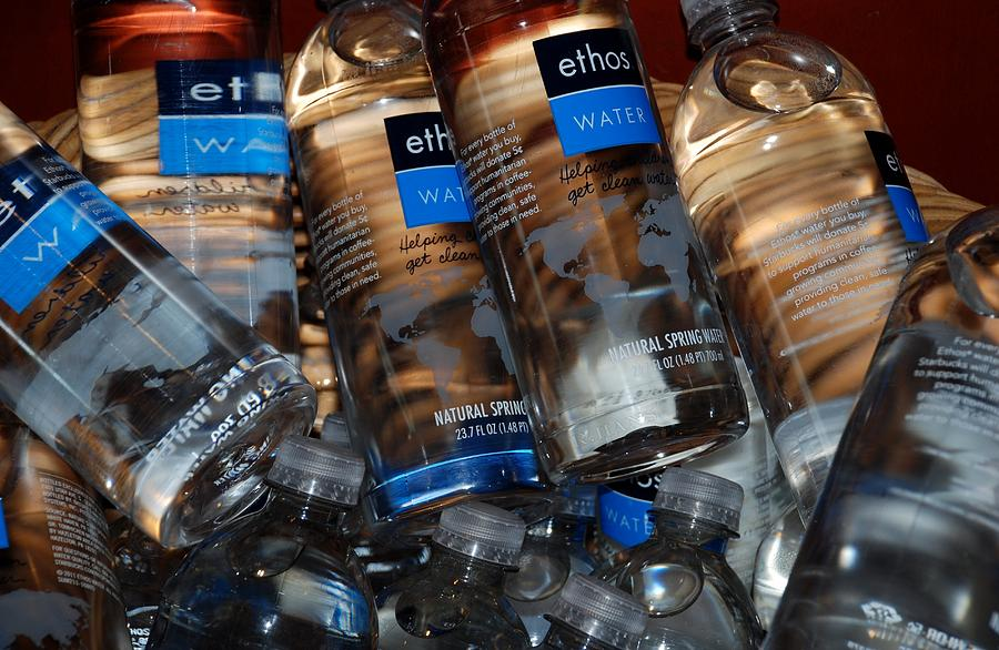Water Bottles Photograph - Water Bottles by Rob Hans