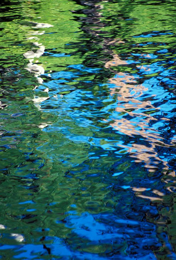 Water Reflections Photograph  - Water Reflections Fine Art Print