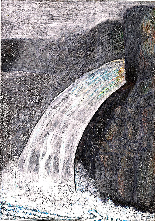 Water Series-greenwich Ny Drawing  - Water Series-greenwich Ny Fine Art Print