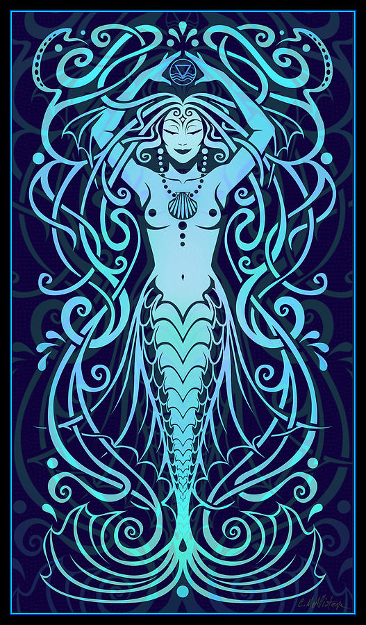 Water Spirit Digital Art  - Water Spirit Fine Art Print