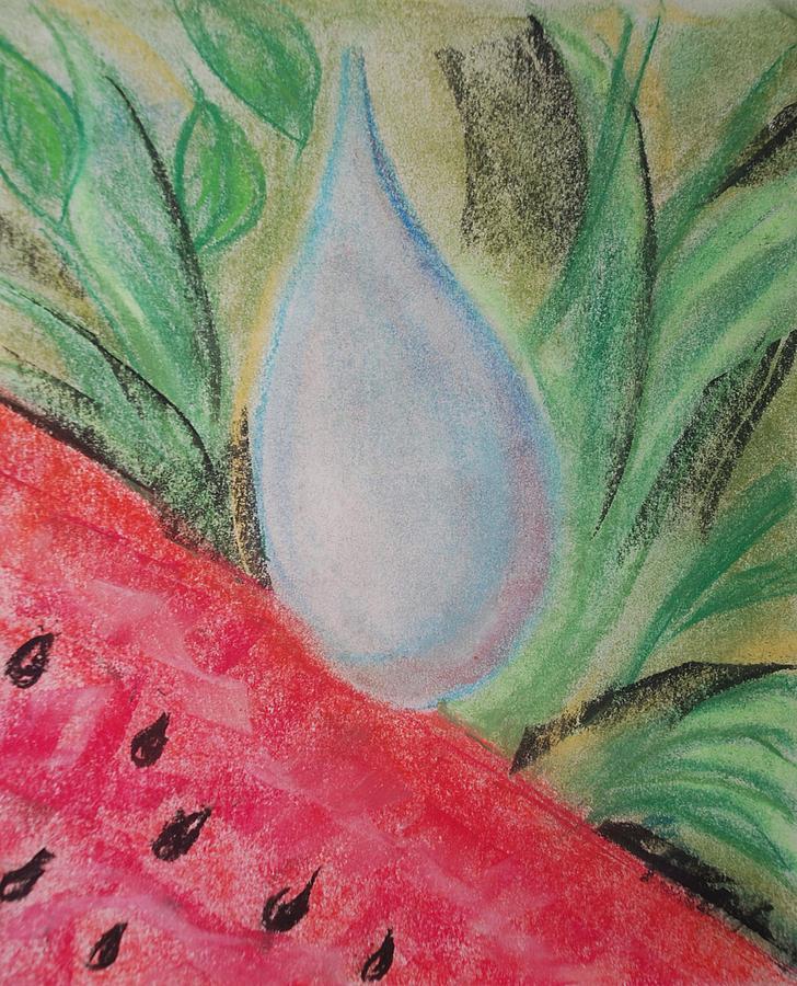 Water Watermelon Pastel