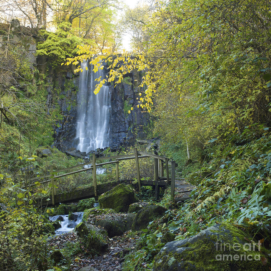 Waterfall Of Vaucoux. Puy De Dome. Auvergne. France Photograph