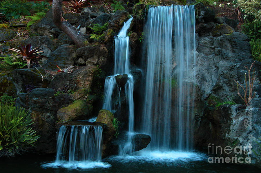 Waterfalls Photograph  - Waterfalls Fine Art Print