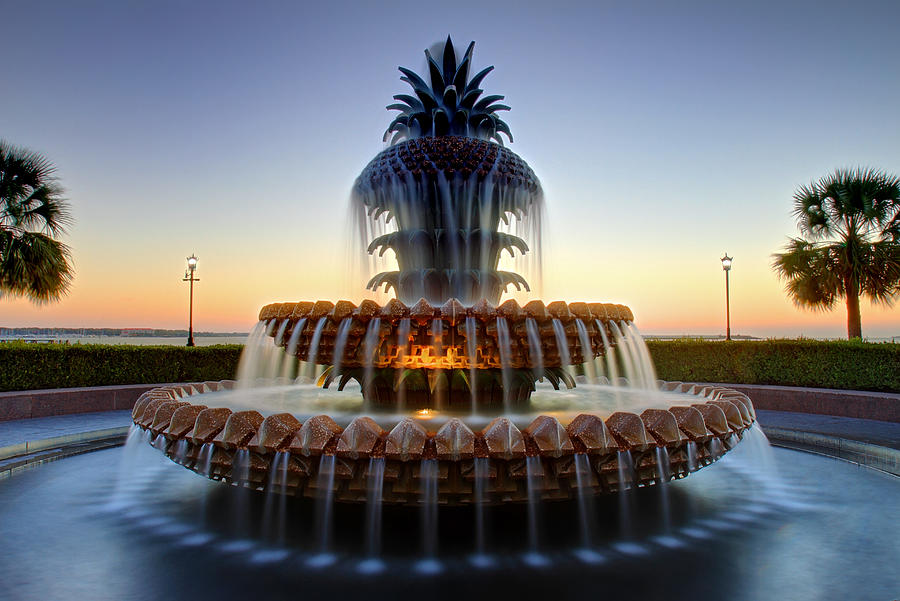 Water fountains masters - Waterfront Park Pineapple Fountain In Charleston Sc By Pierre Leclerc