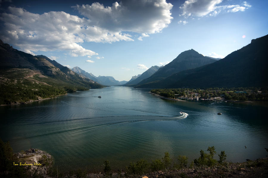 Waterton Lake Photograph  - Waterton Lake Fine Art Print