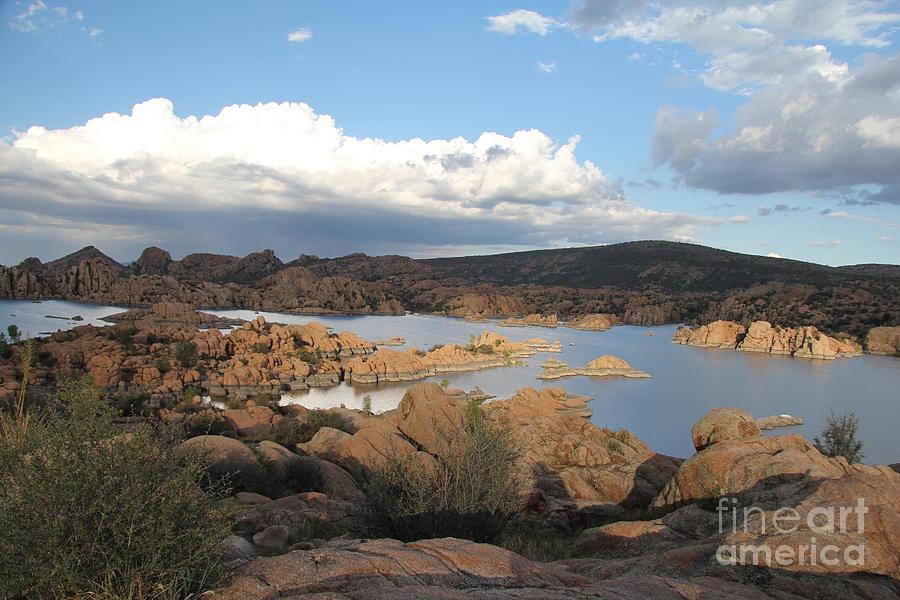 Watson Lake Photograph - Watson Lake 2 by Diane Greco-Lesser