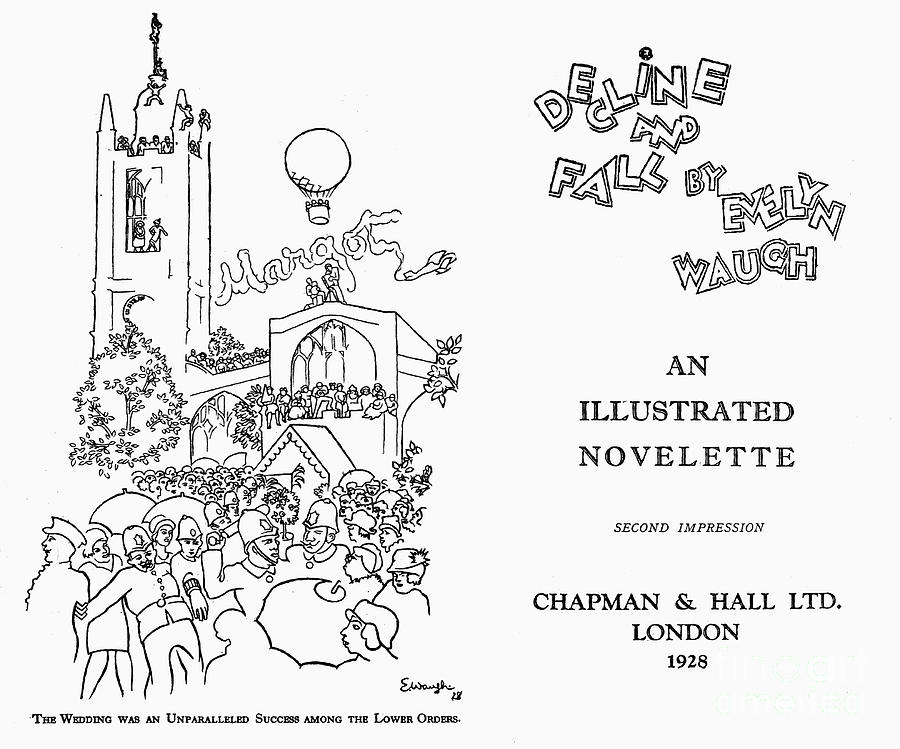 decline and fall evelyn waugh essay Detailed table of contents (with links to quotations) the history of the decline and fall of the roman empire chapter 1: the extent and.