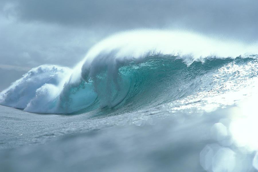 Wave And Spray Photograph  - Wave And Spray Fine Art Print
