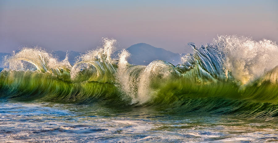 Wave Photograph  - Wave Fine Art Print