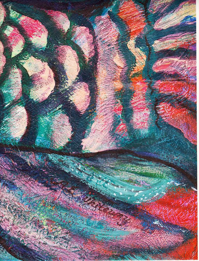Waves And Scales Painting
