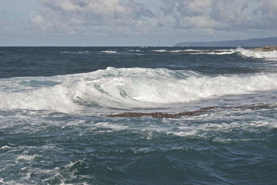 Waves Breaking 7952 Photograph