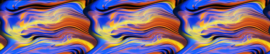 Waves Digital Art