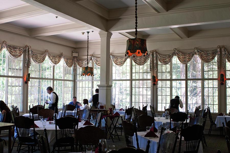 wawona dining room photograph by lorraine devon wilke