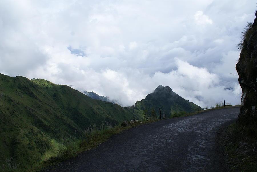 Way To Dhanaulti Photograph