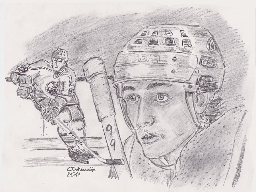 wayne gretzky coloring pages - photo#12