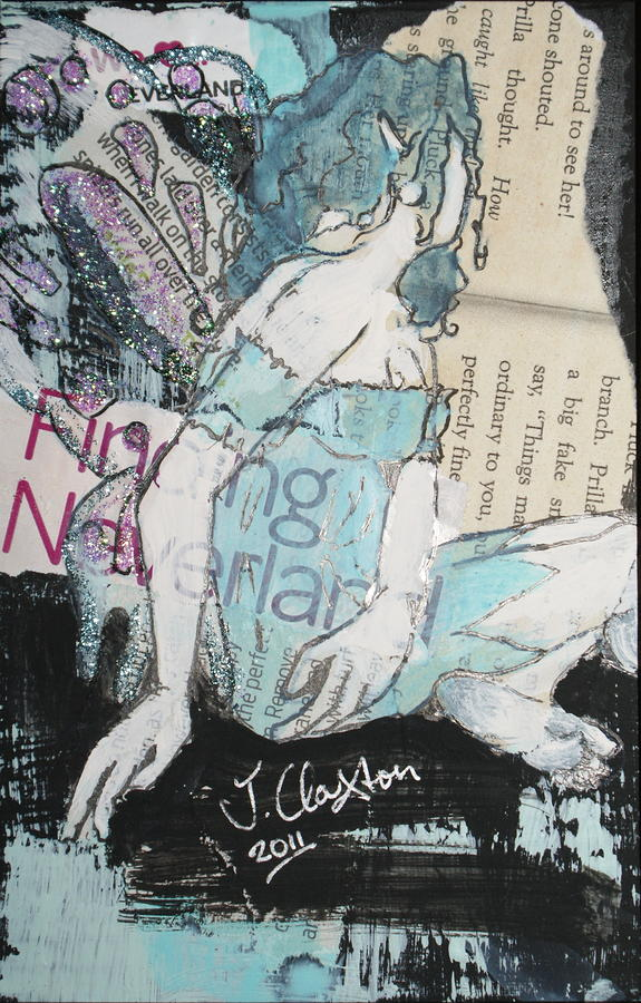 We Love Neverland Mixed Media