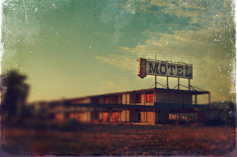 We Met At The Old Motel Photograph