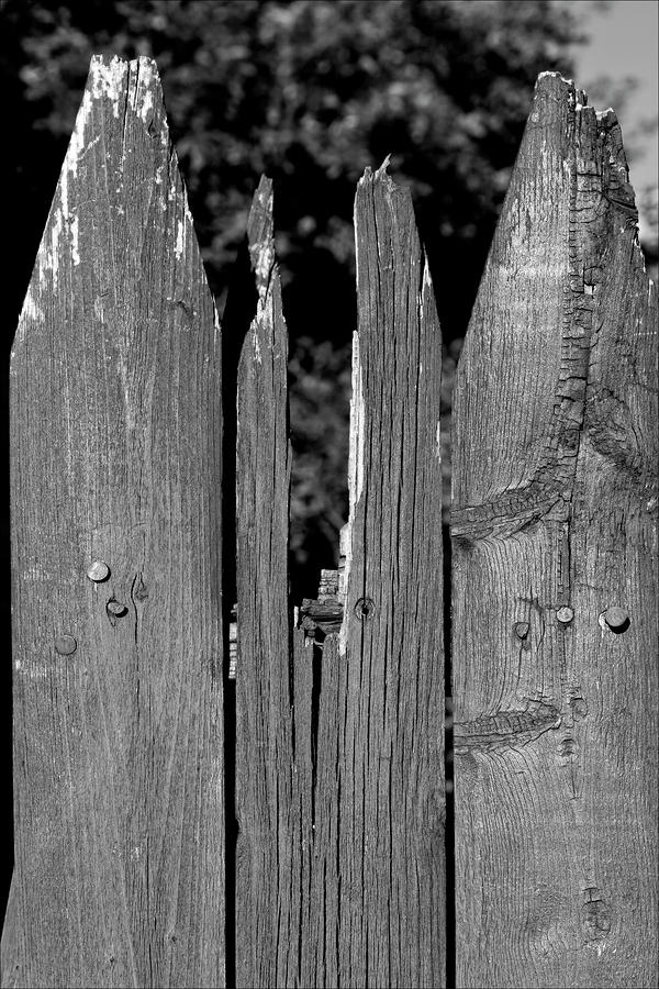 broken fence warning announcement - photo #23