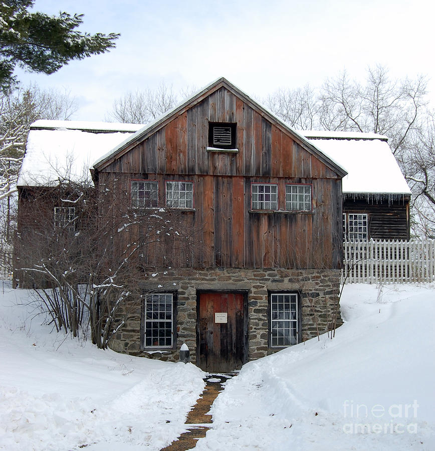 Weathered Building At Old Sturbridge Village Photograph