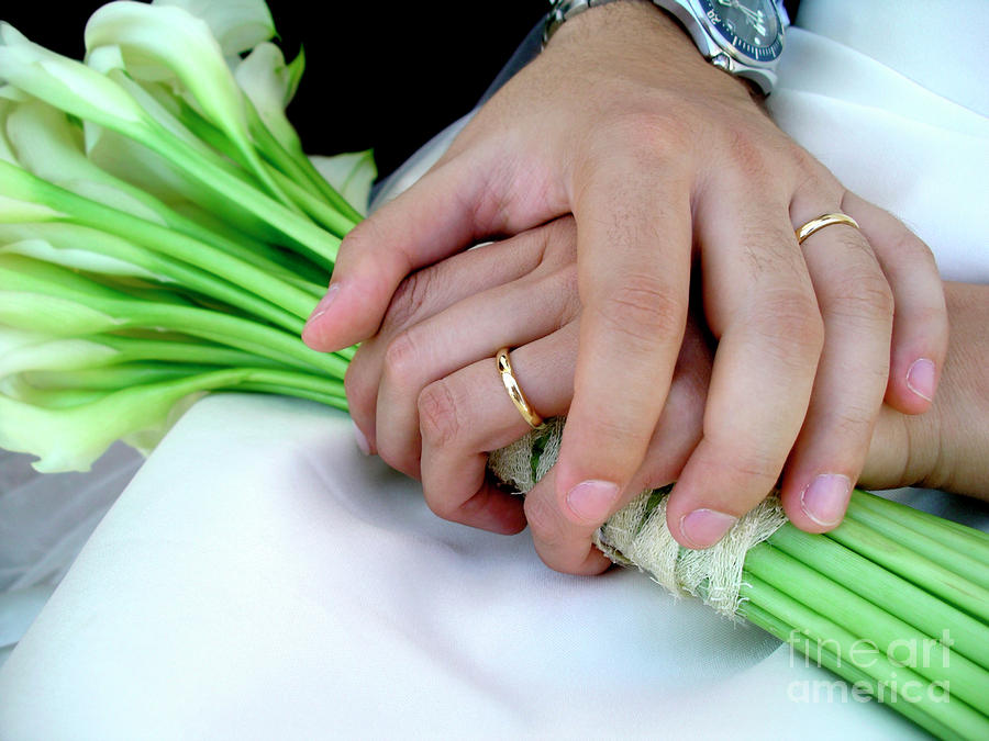 Wedding Rings Photograph