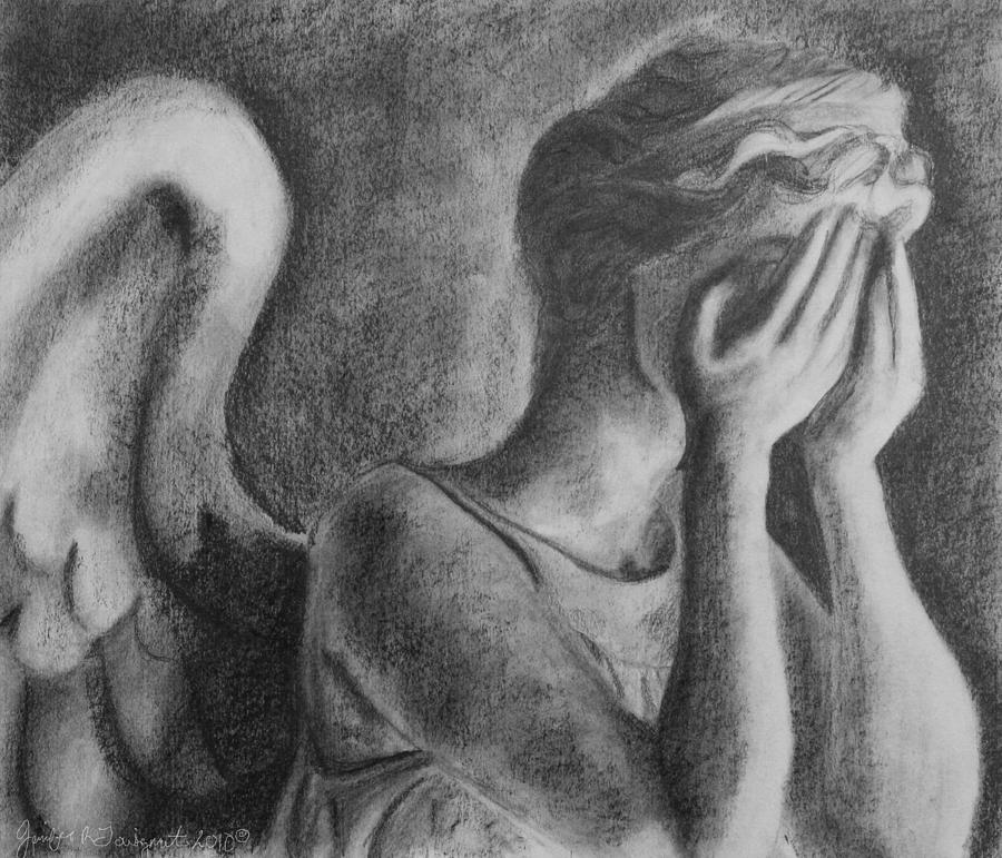 Weeping Angel Drawing