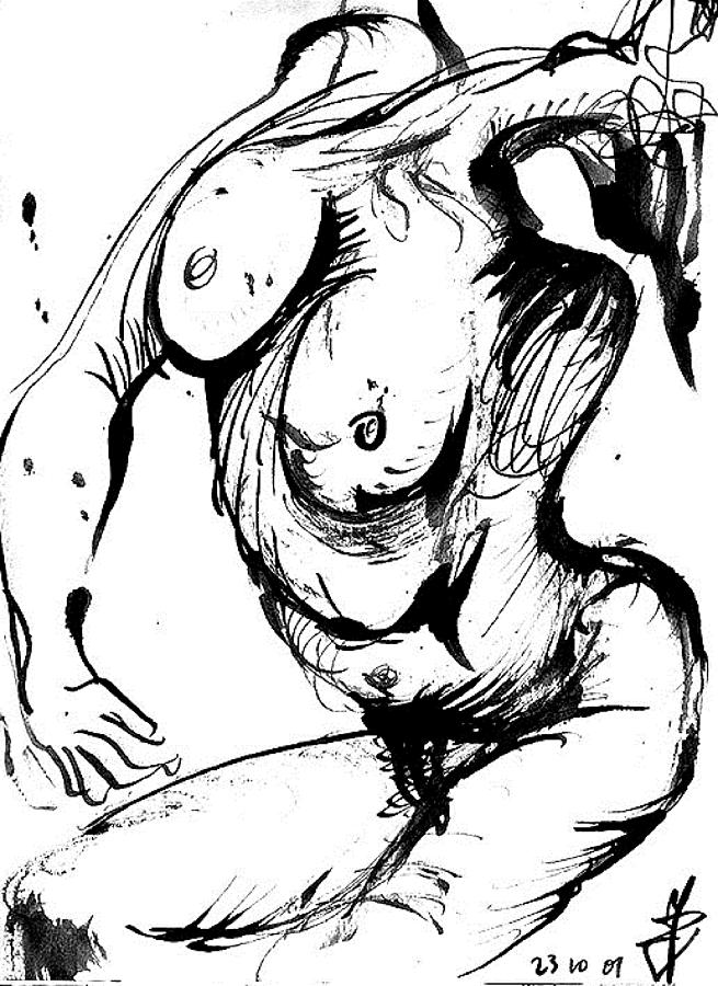 Weird Nude Drawings 4