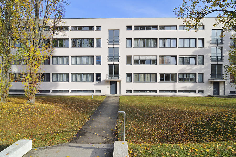 Weissenhof Settlement Stuttgart Germany Photograph By