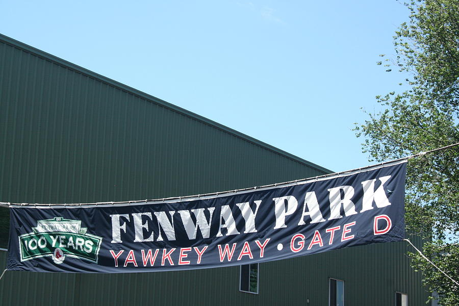 Welcome To Fenway Park Photograph