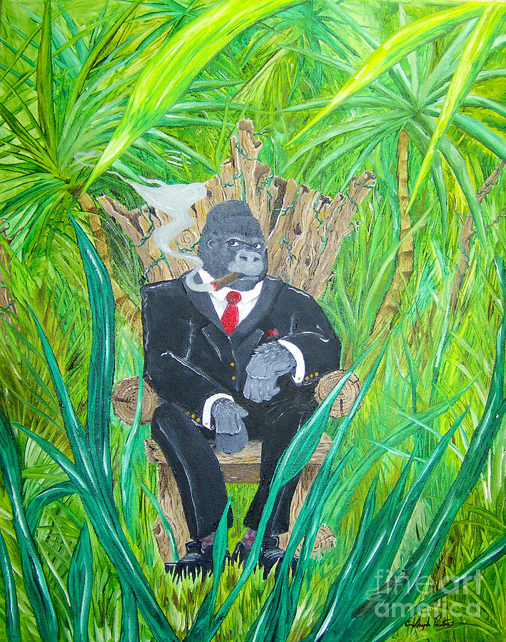 Welcome To The Jungle Painting
