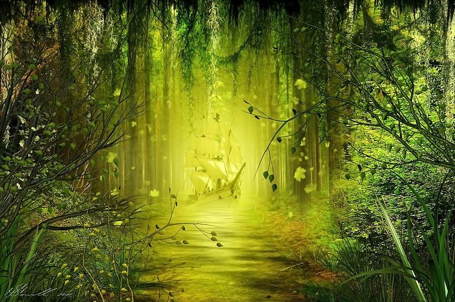 Jungle Art   Nicole Kennedy Design