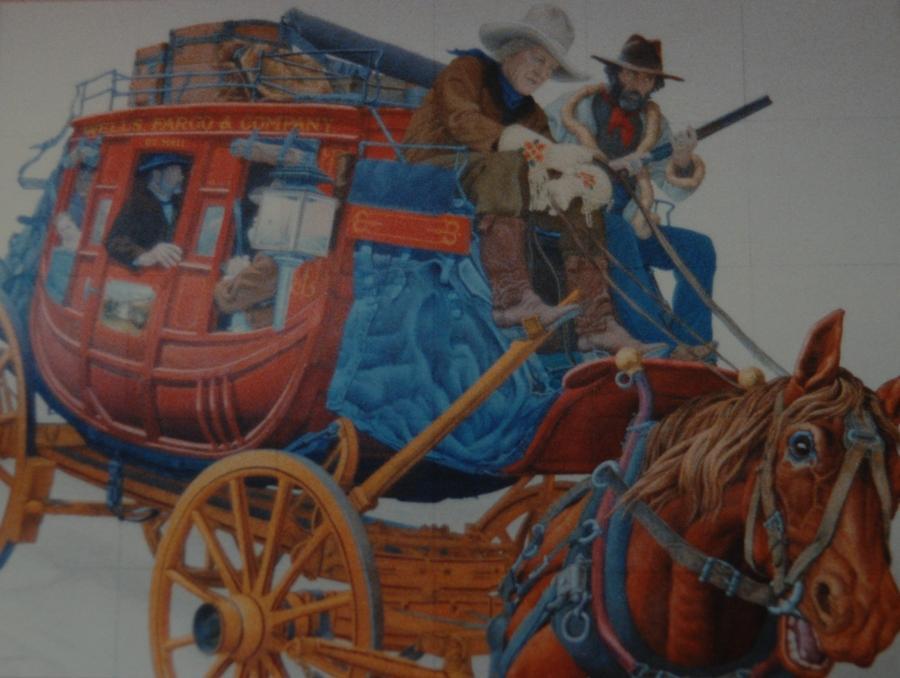 Wells Fargo Stagecoach Photograph