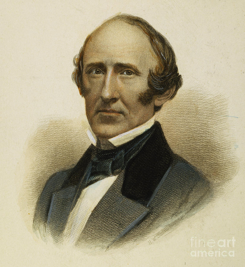 19th Century Photograph - Wendell Phillips (1811-1884) by Granger
