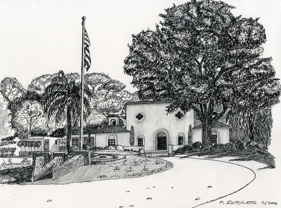 Wente Winery - Arroyo Road Painting