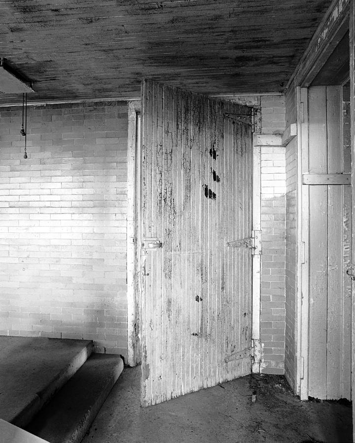 Wern Dairy Door Photograph