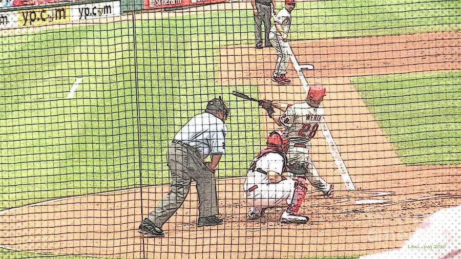 Werth Swings For Phillies Photograph  - Werth Swings For Phillies Fine Art Print