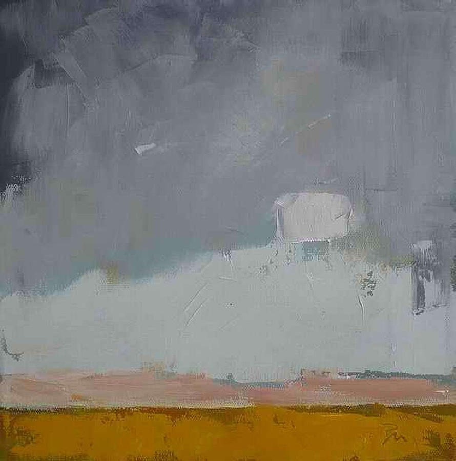 west abstract landscape painting