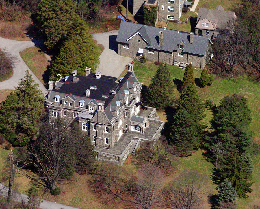 Pa Haverford 231 Laurel Ln Dolobran Frank Furness Mansions House Styles Architecture