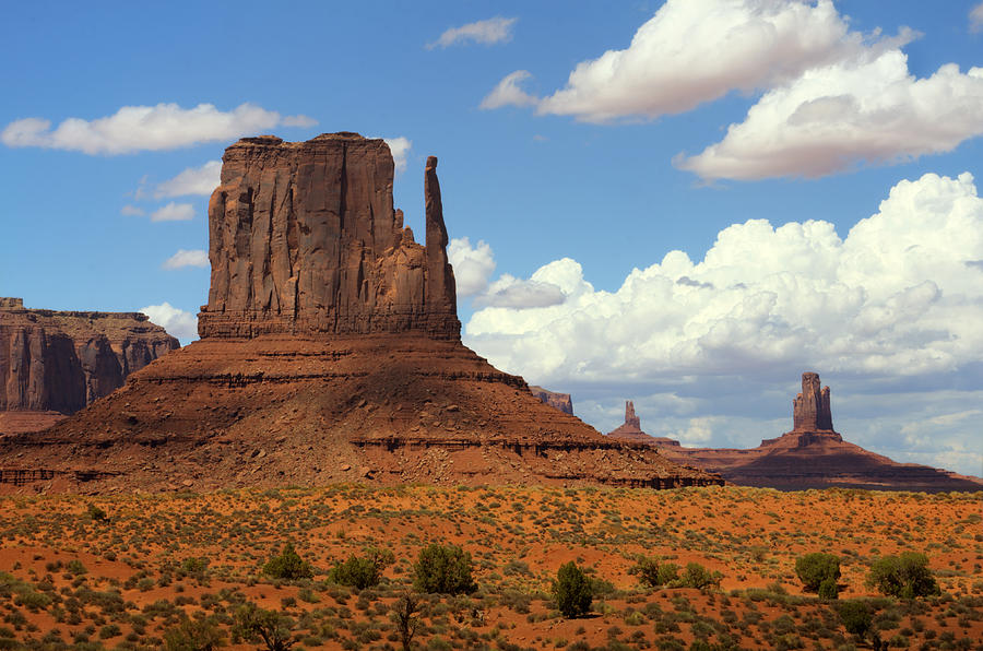 West Mitten Butte Photograph