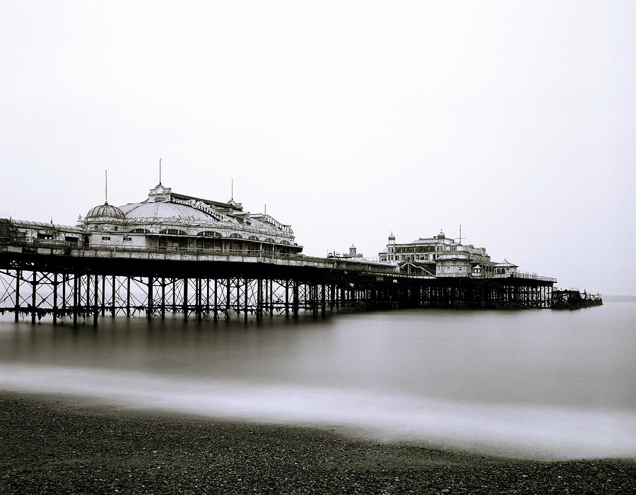 West Pier In Brighton In The Uk Photograph