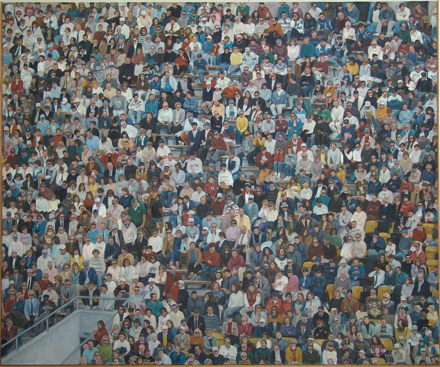 West Point Crowd Painting