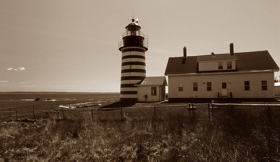 West Quoddy Lighthouse Photograph
