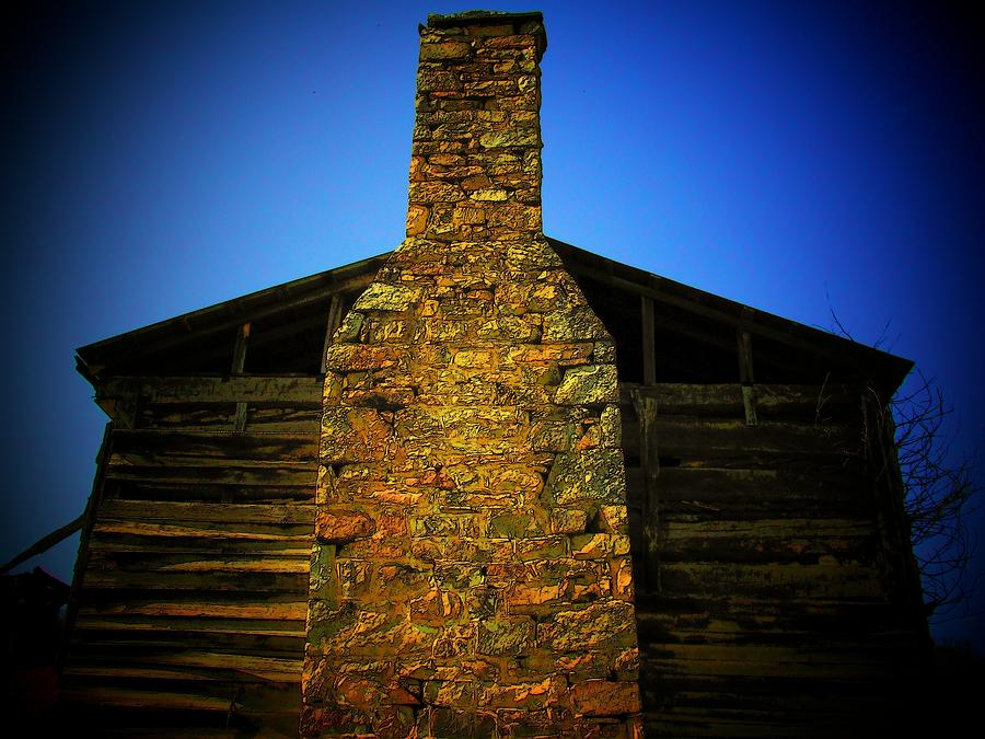 West Virginia Chimney Photograph