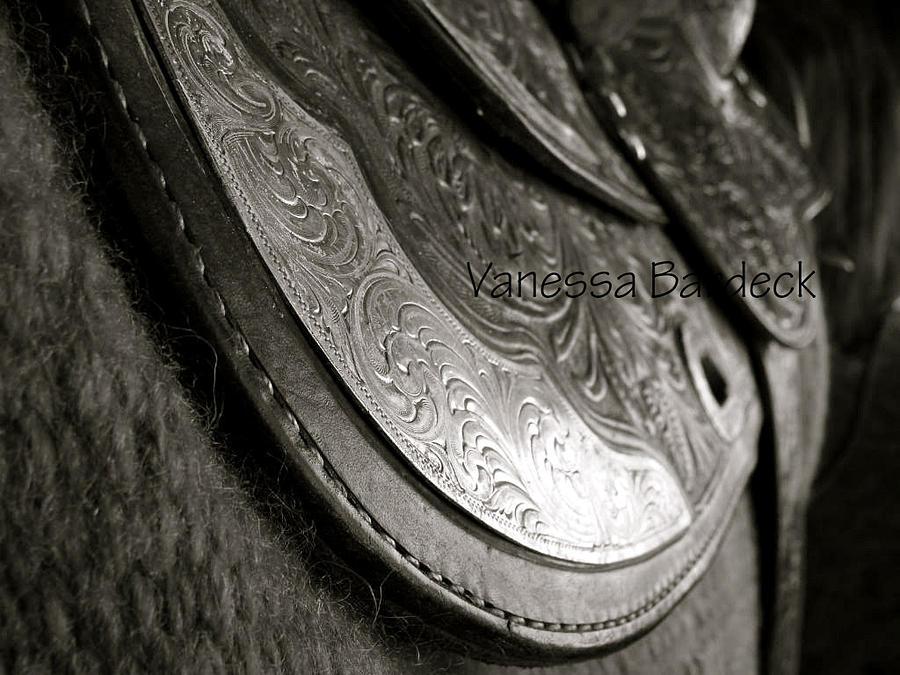 Western Saddle  Photograph - Western Saddle by Vanessa Bardeck