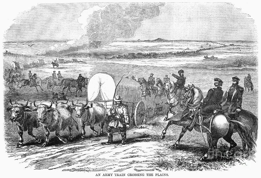 Westward Expansion, 1858 Photograph
