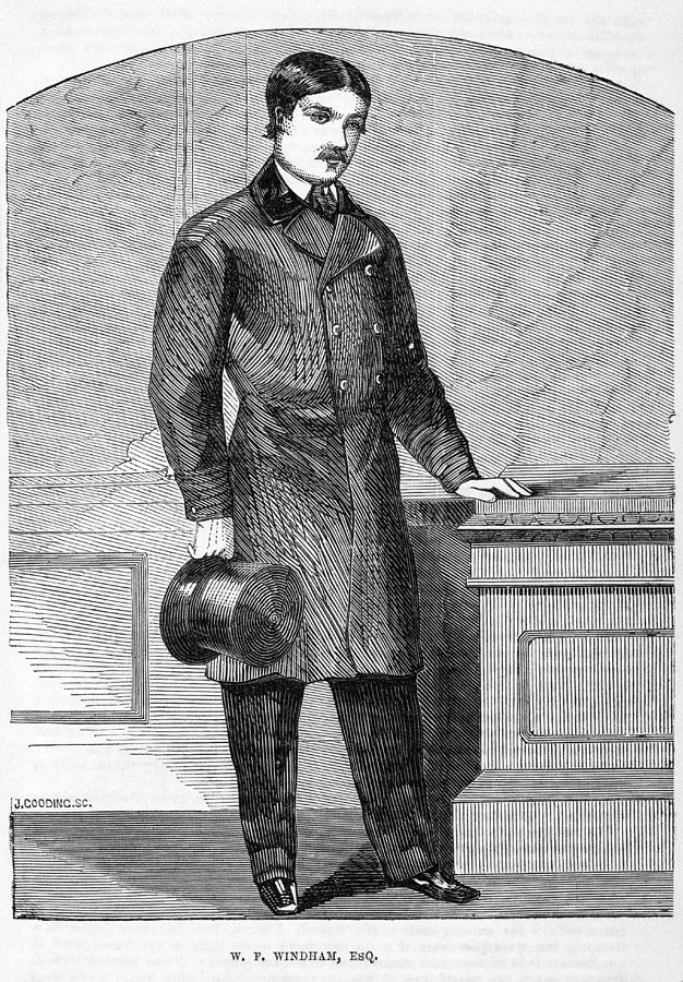 W.f. Windham, English Aristocrat Photograph