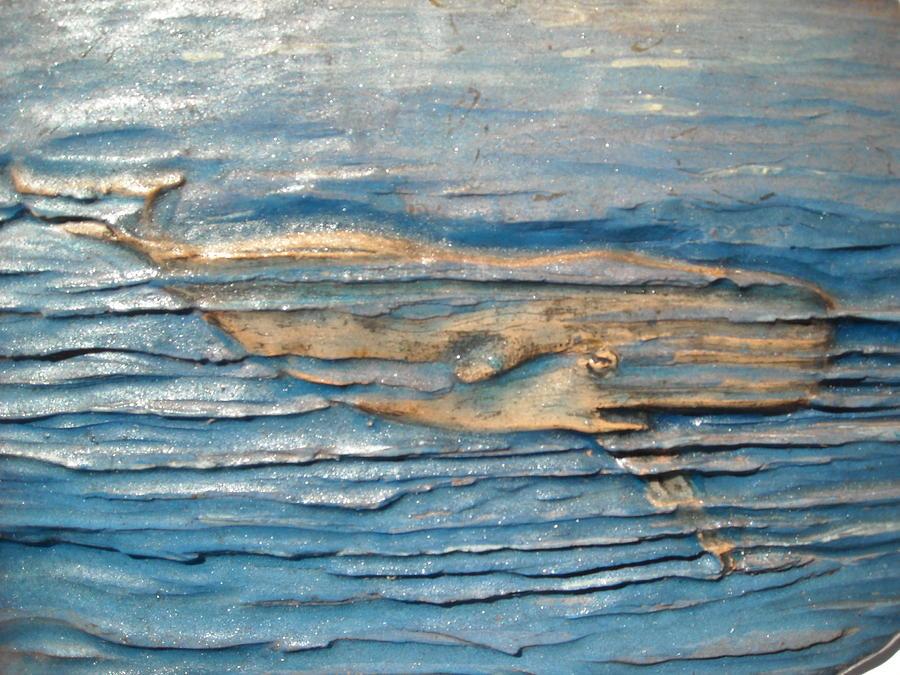 Whale Ceramic Art