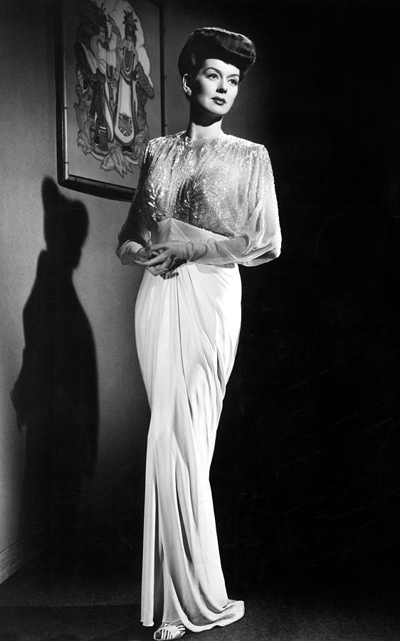 What A Woman, Rosalind Russell Wearing Photograph  - What A Woman, Rosalind Russell Wearing Fine Art Print